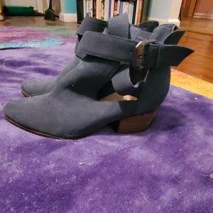 Stitch Fix-sole society strappy booties, size 7.5